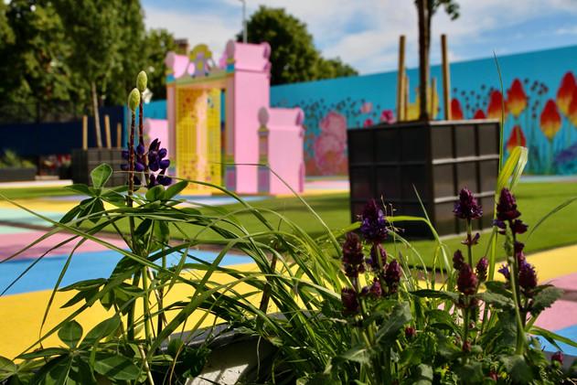Baker + Borowski's 'Pleasure Garden' on Warwick Road in Earl's Court