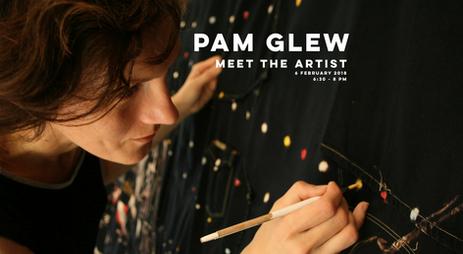 06.02.2018   PAM GLEW   Meet The Artist