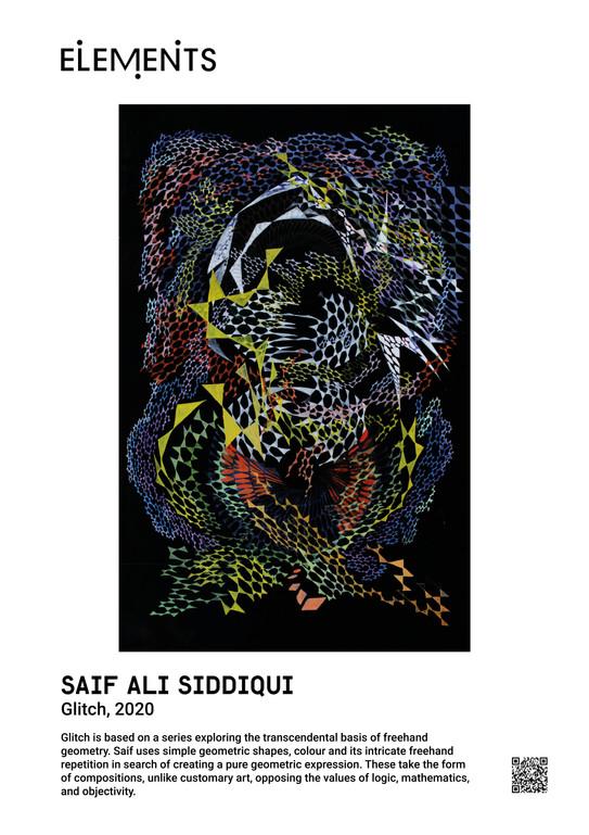 Saif Ali Siddiqui Glitch, 2020