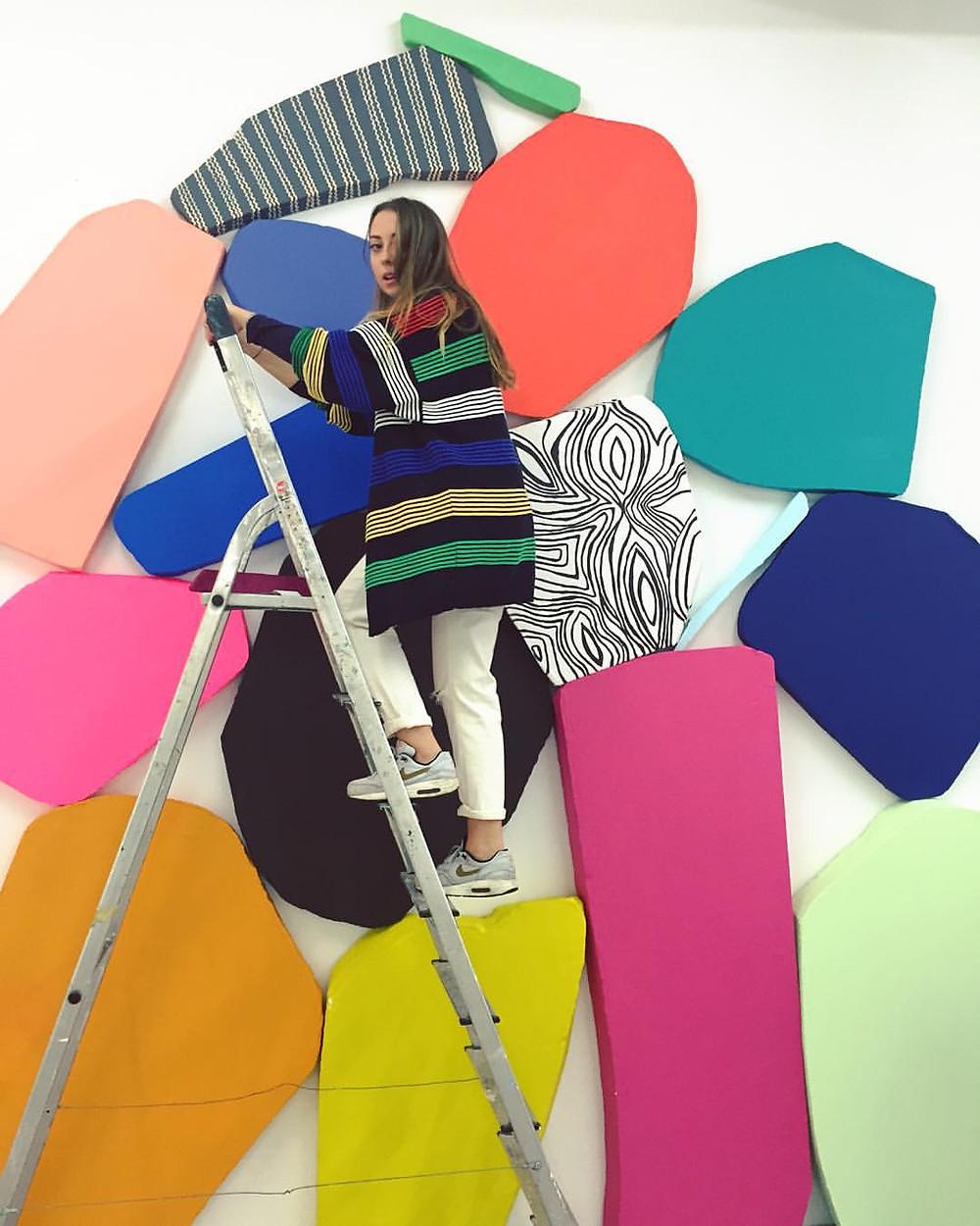 Enterprising: Artist Olivia Hodder exhibits her work www.attollo-art.com