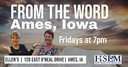 From the word bible teaching ames iowa fridays at 7pm