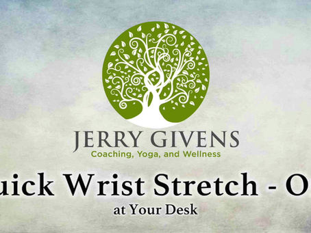 The Perfect Wrist Stretch (Part 1)