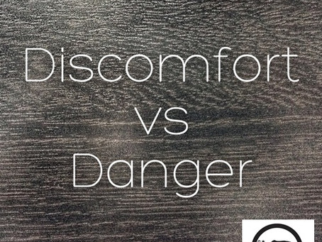 """Discomfort vs. Danger"" (Article) on Elephant Journal"