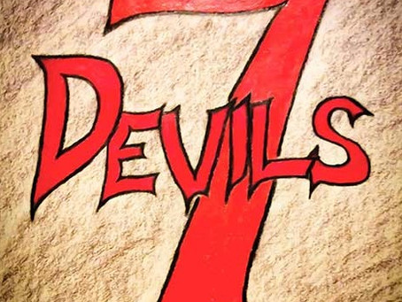 The Making of SEVEN DEVILS: The Cover Art