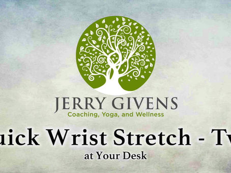 The Perfect Wrist Stretch (Part 2)