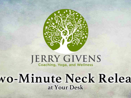2-Minute Neck Stretch!