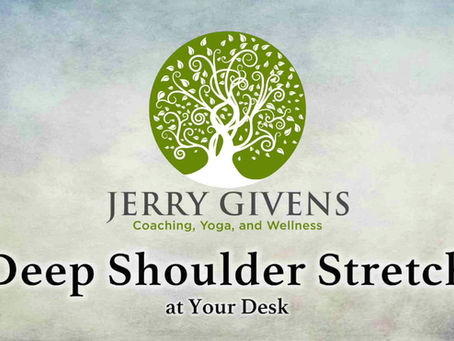 How to Relieve Shoulder Tension in 3 Minutes