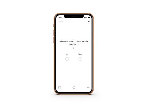 UPOLLIT – Eine politische Umfrage App