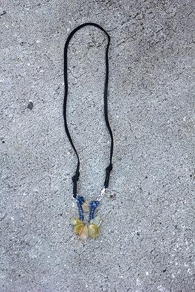 Aquamarine Kyanite Necklace