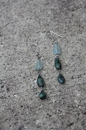 Aquamarine Emerald Drops