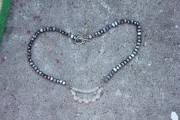 Rainbow Moonbeam Necklace
