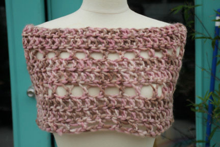 """""""In the Pink"""" Capelet"""