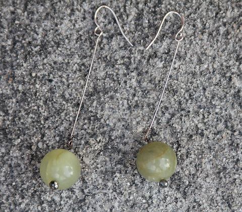 Apple Jade Earrings