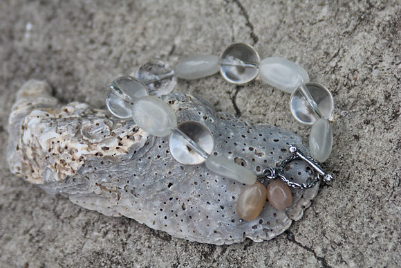 Quartz Moonstone Bracelet