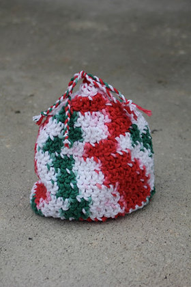 Peppermint Kiss Baby Hat