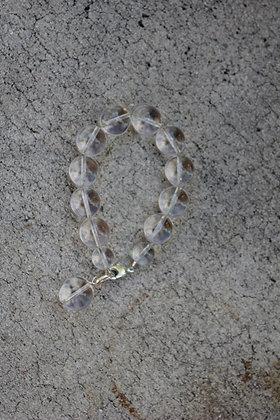 Rock Crystal Orb Bracelet