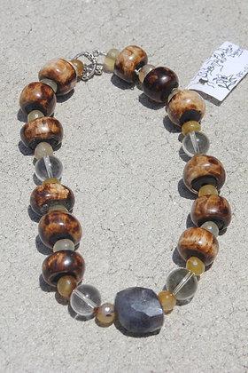 Sapphire Bone Necklace