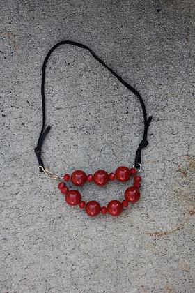 Crystal  Porcelain Necklace