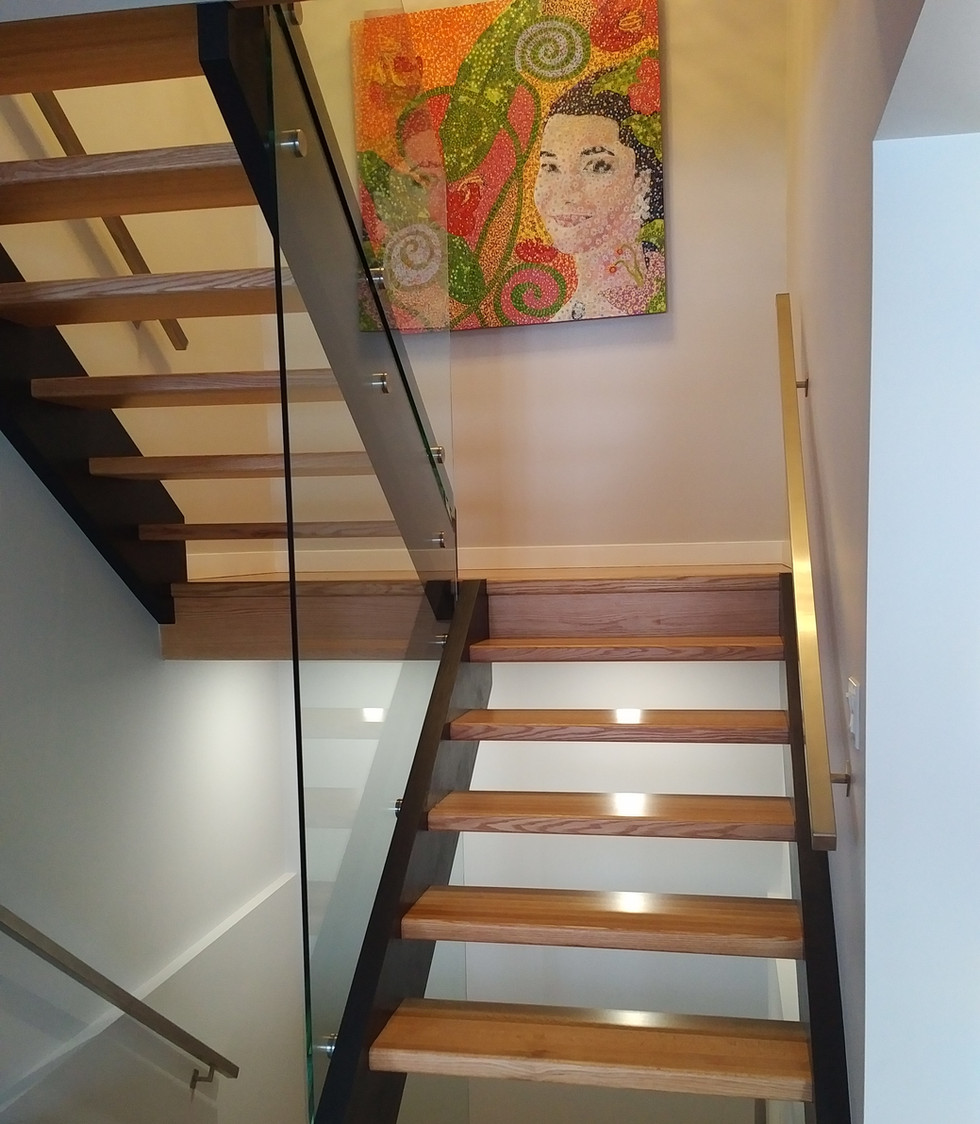 Brass Stairs