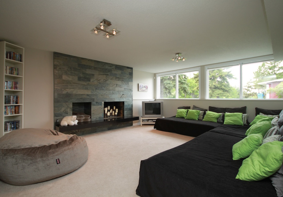 6303 Slate Fireplace