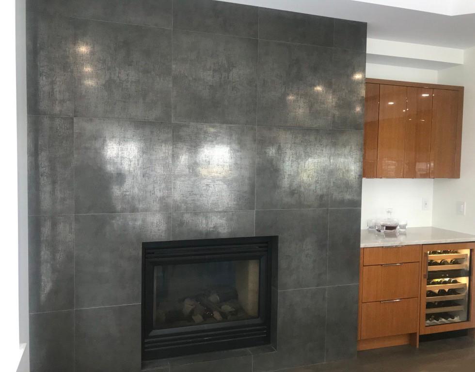 Parish Dining Room Fireplace