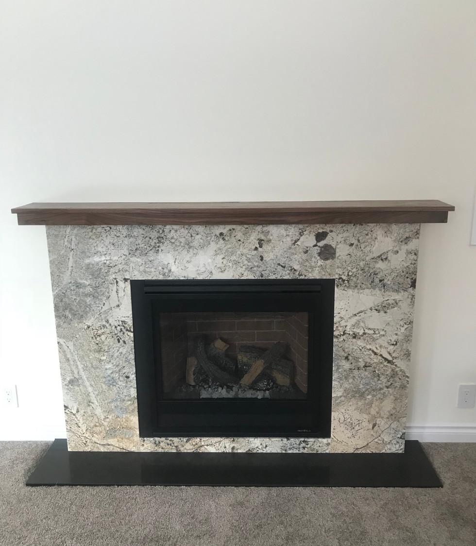 McColl Addition Fireplace