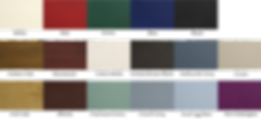 colours door