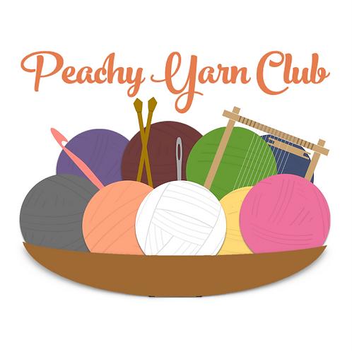Peachy Yarn Club