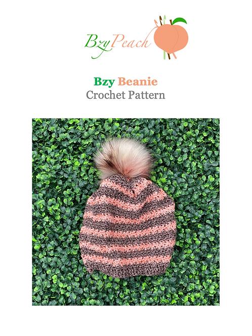 Bzy Beanie Crochet Pattern
