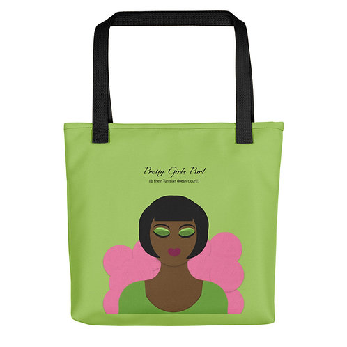Pretty Girls Purl Tote bag