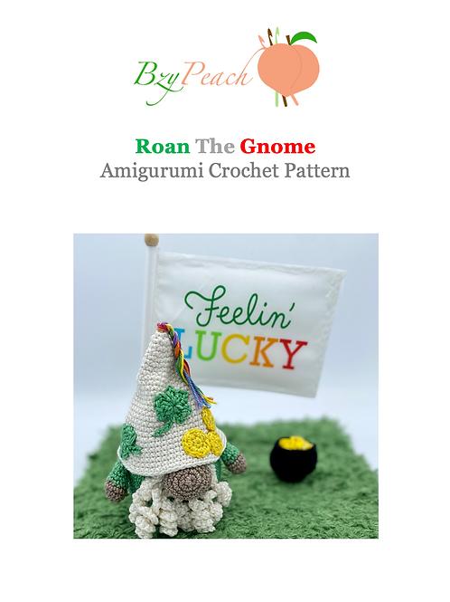 Roan the Gnome Amigurumi Crochet Pattern