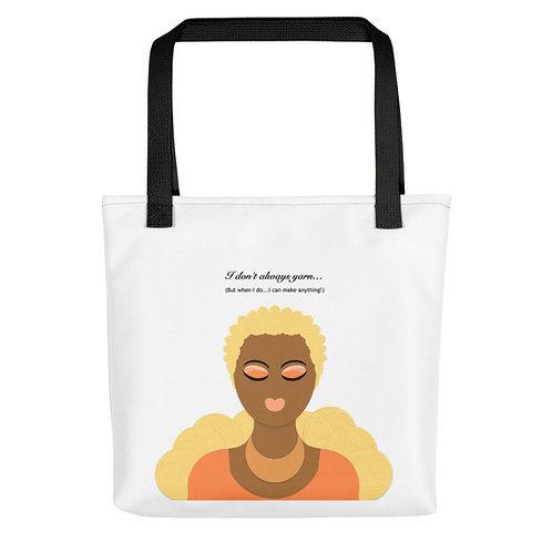 Be Peachy Blonde Tote bag