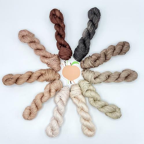 Afro Yarn Minis - Set of 10 (Cotton & Tencel)