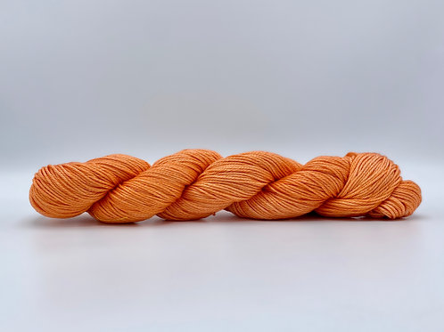 Chojuro Asian Pear Colorway on 100% Pima Cotton DK yarn