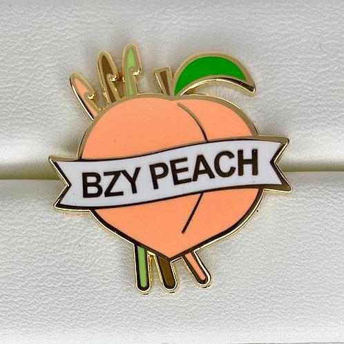 BzyPeach Signature Enamel Pin