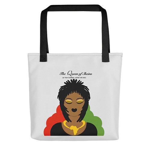 Queen of Skeins Tote bag