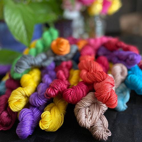 Mini Skeins - Set of 4 (Cotton & Tencel)
