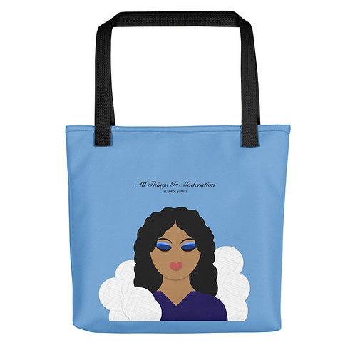 All Things In Moderation Tote bag