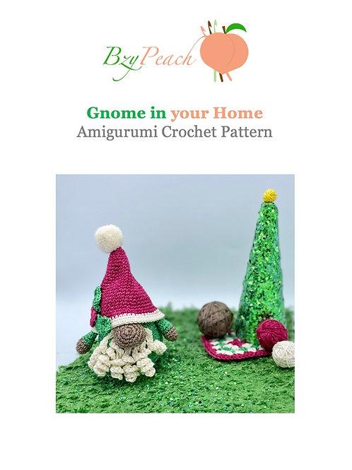 Jerome the Gnome Amigurumi Crochet Pattern