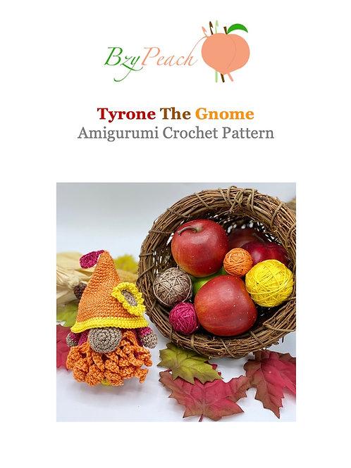 Tyrone the Gnome Amigurumi Crochet Pattern