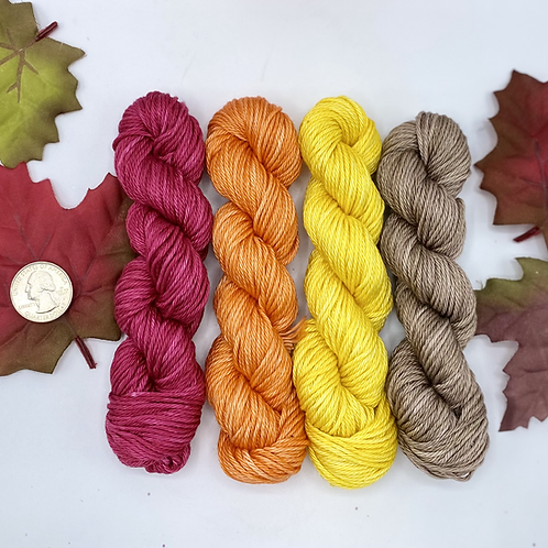 Fall Small Skeins