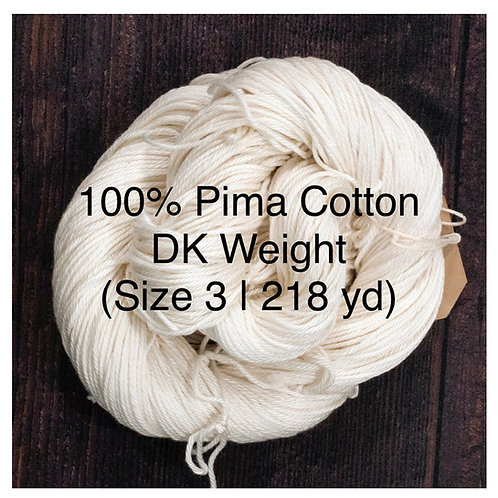 January - Peach Wine (DK Cotton )