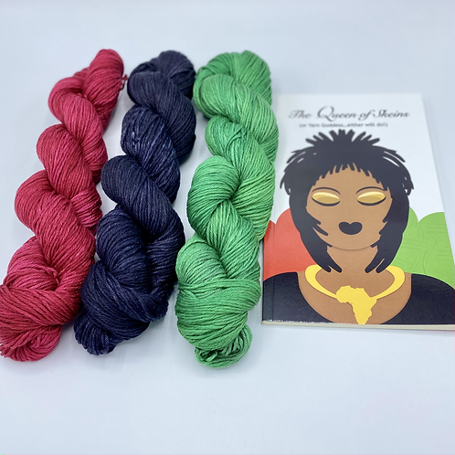 Kwanzaa Colors - Set of 3 (Cotton or Tencel)