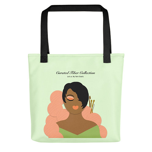Curated Fiber Collection Tote bag