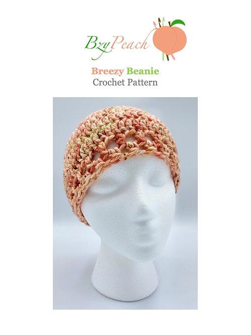 Breezy Beanie Hat Crochet Pattern