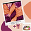 Thumbnail: January - Peach Wine (DK Cotton )