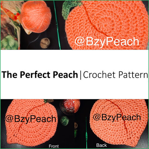 Perfect Peach Crochet Pattern