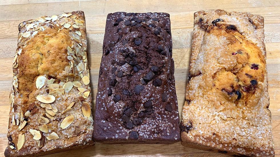 Gluten Free Sweet Breads