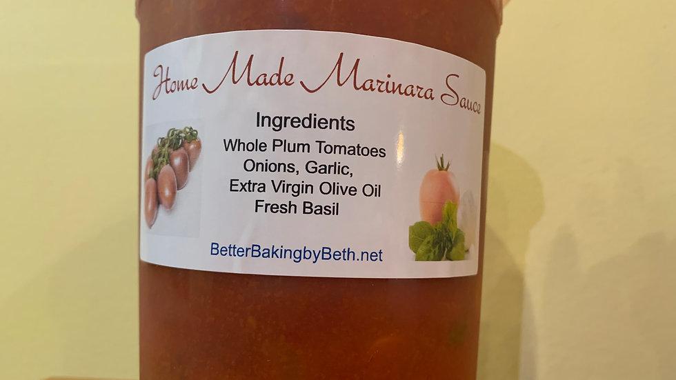 Home Made Marinara Sauce