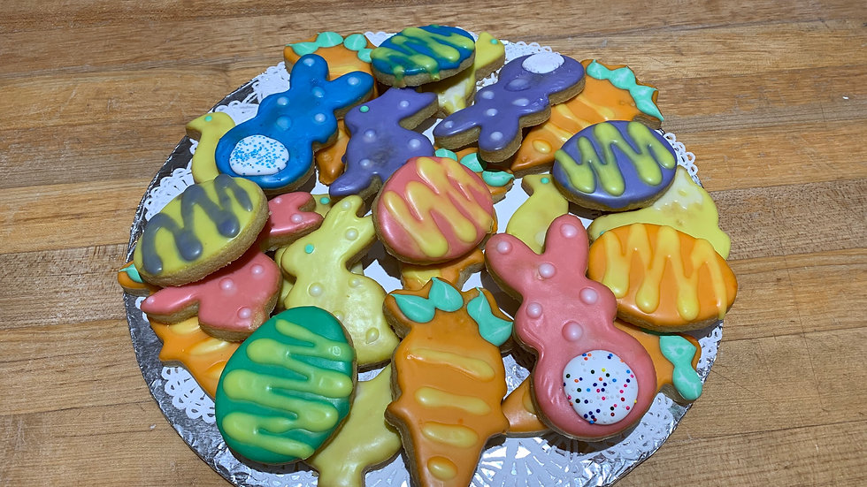 Assorted Cookies with Shortbread